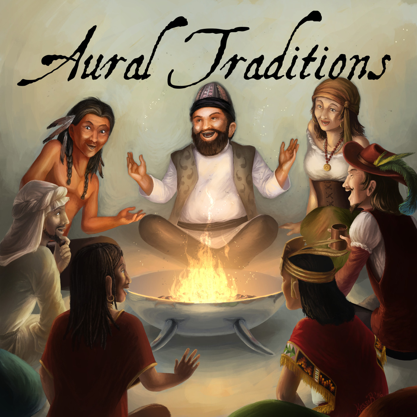 Aural Traditions - An anthology of audio drama stories